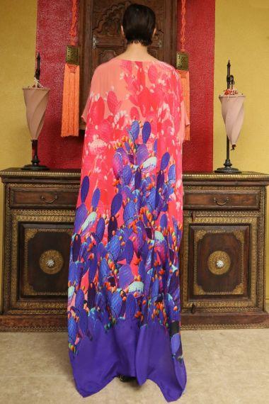 Dresses-with-Bohemian-Prints-Designer-Clothing-Long-Caftan