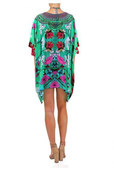 Bright-Green-Designer-Caftan-Dress