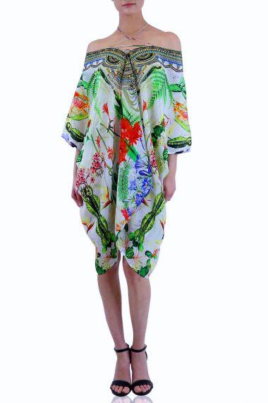 Cactus-Print-Designer-Caftan