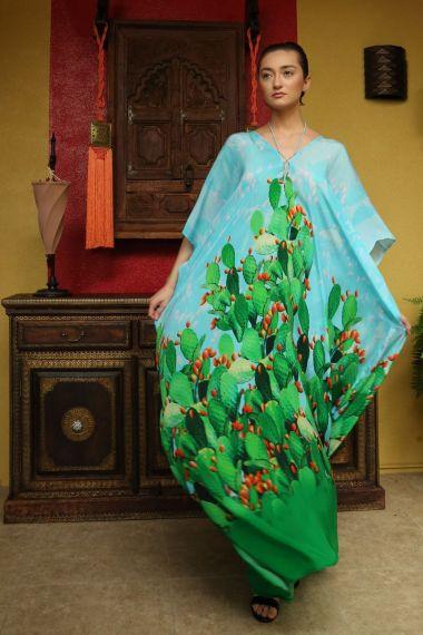 Long-caftan-dress-cactus-print-caftan-in-long