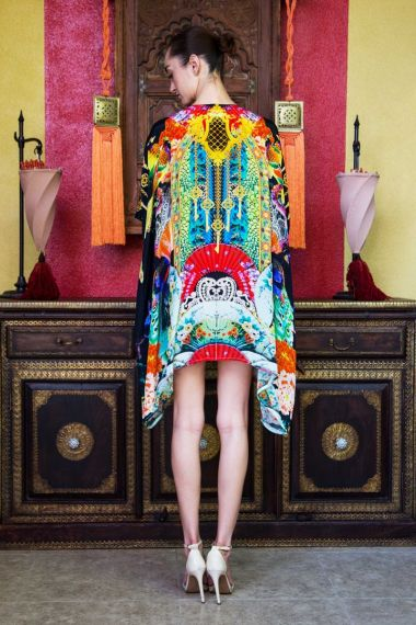 short-silk-caftan-with-japanese-prints-short-caftan-dress