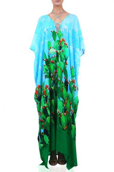Printed-Caftan-printed-long-dresses-cactus-print