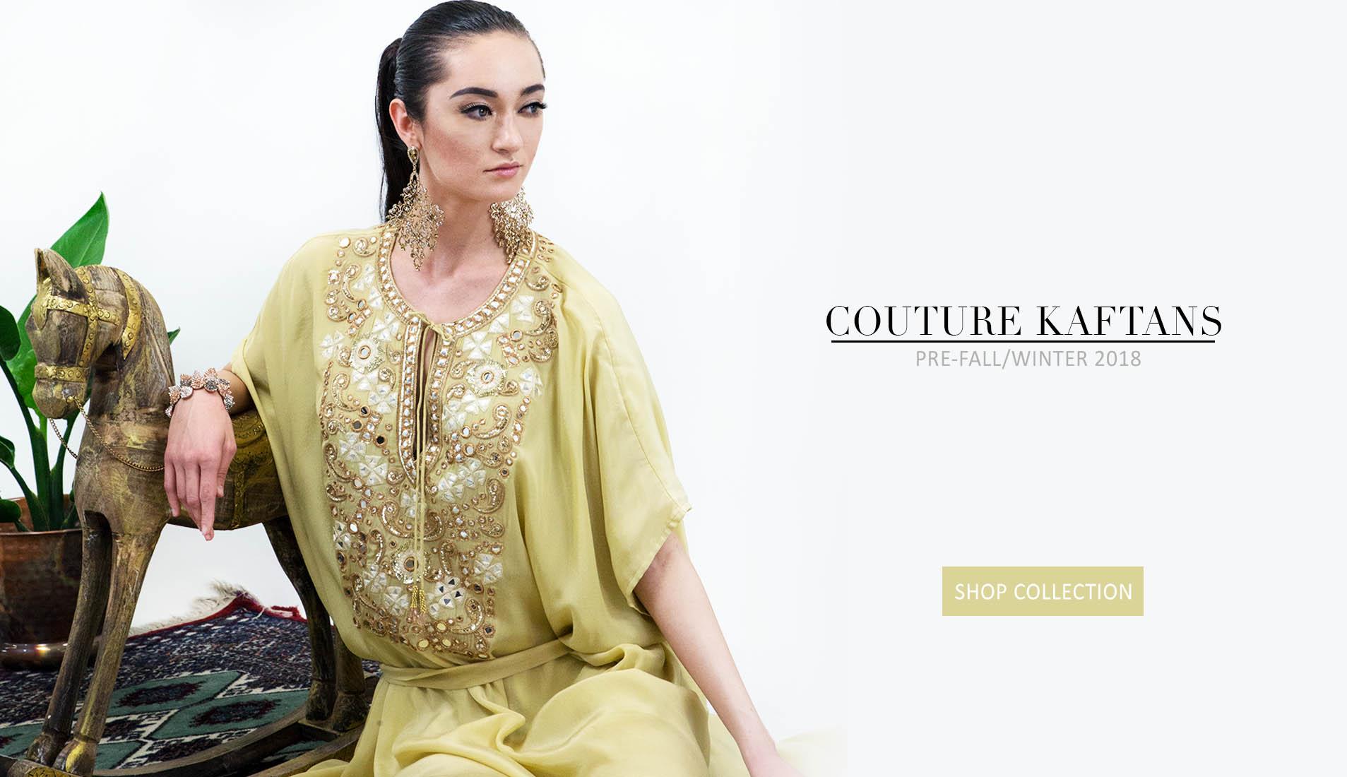 couture caftan dresses pre fall winter 2018